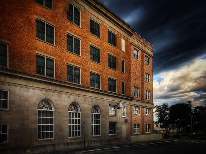 Brick building - Harold Jones
