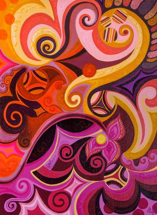 Happy, 18x24 Acrylic/Canvas $ 450.00 - Gallery Fresh Art