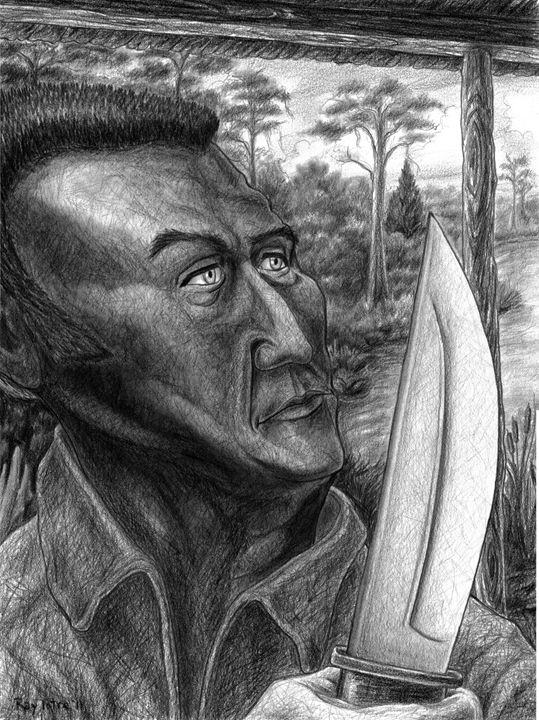 Jim Bowie - Art of Ray Istre