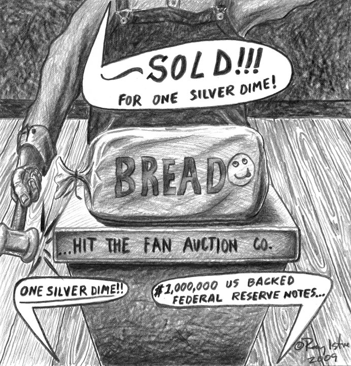... Hit The Fan Auction - Art of Ray Istre