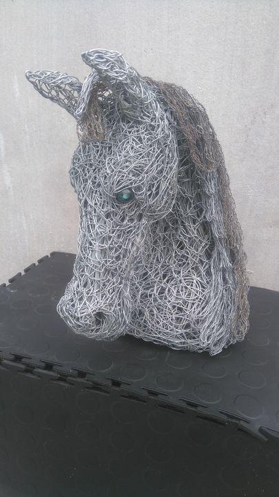 Horse trophy head - Percy Artwork