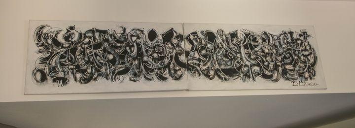 DISCURSO ABSTRACTO  N1(DÍPTICO) - Fernando Pereira Collection