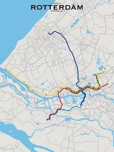 Rotterdam Transit Map