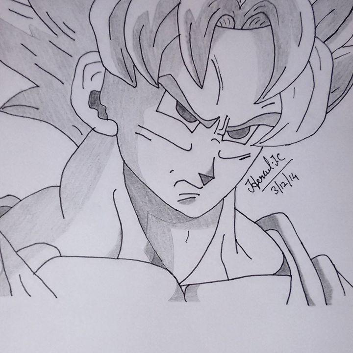 "Goku-""Dragon Ball Z"" - Hercul James Christopher"
