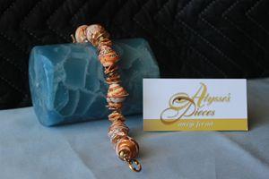 Keishi Pearl Shell Bracelet