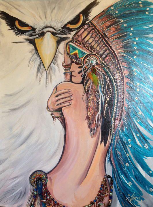 Wide Open Warrior - Art From The Heart