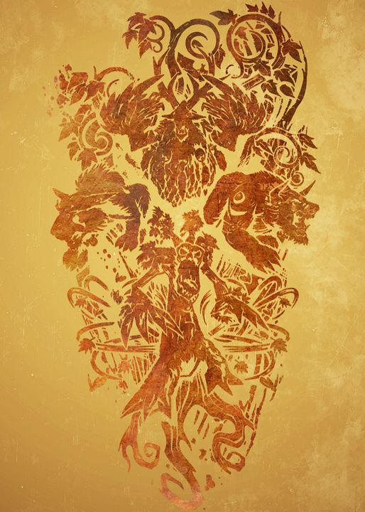 Druid Crest - SucculentBurger