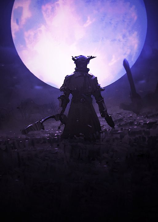 "Bloodborne ""Praise the Moon"" - SucculentBurger"