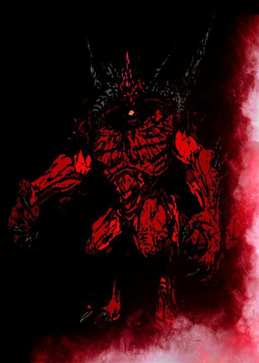 Diablo, the Lord of Terror - SucculentBurger