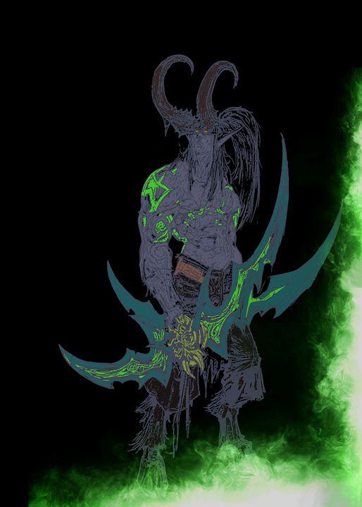 Illidan, the Betrayer - SucculentBurger