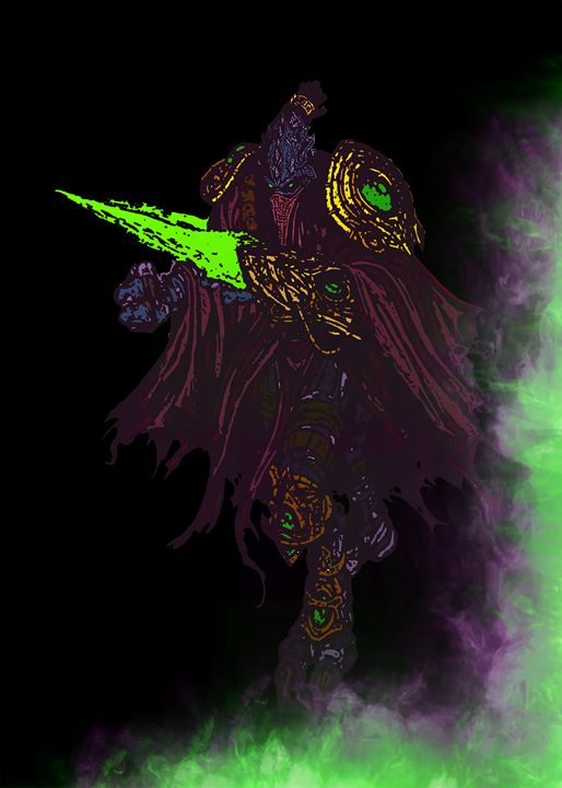 Zeratul, the Dark Prelate - SucculentBurger