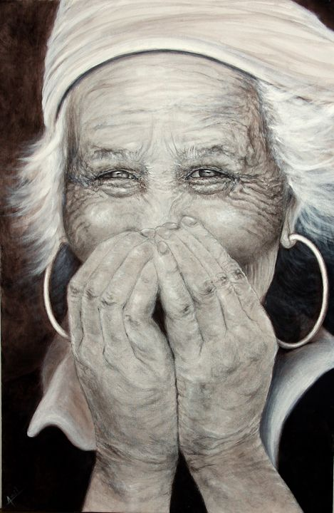 The Granny - Avril Art Painter