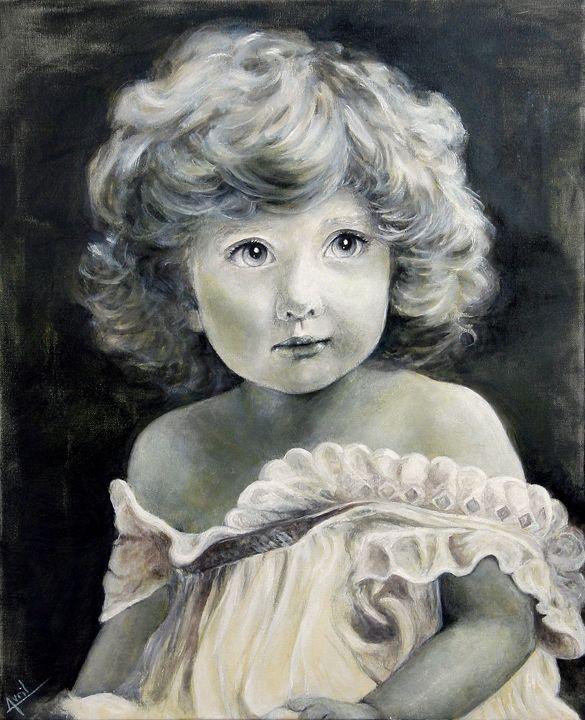 Baby girl - Avril Art Painter
