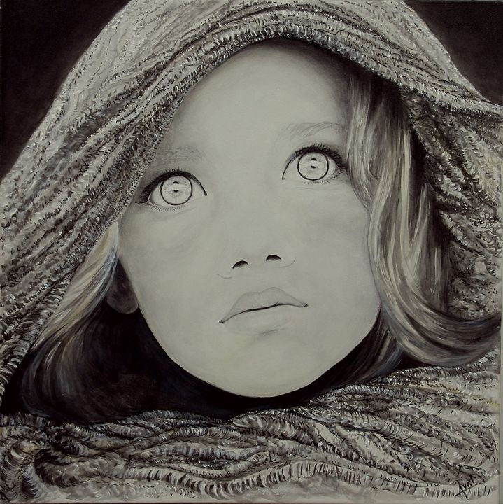 wide eyes - Avril Art Painter