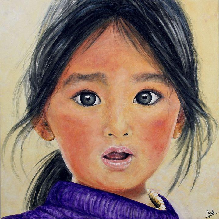 innocence - Avril Art Painter