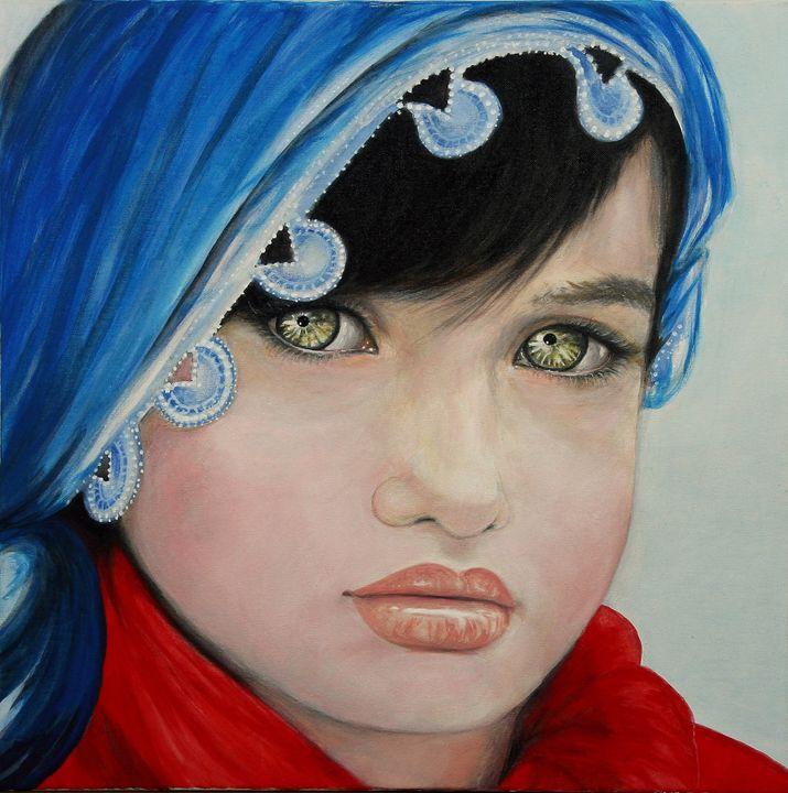 Gypsy - Avril Art Painter