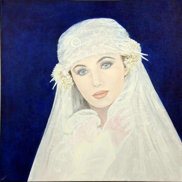 the bride - Avril Art Painter