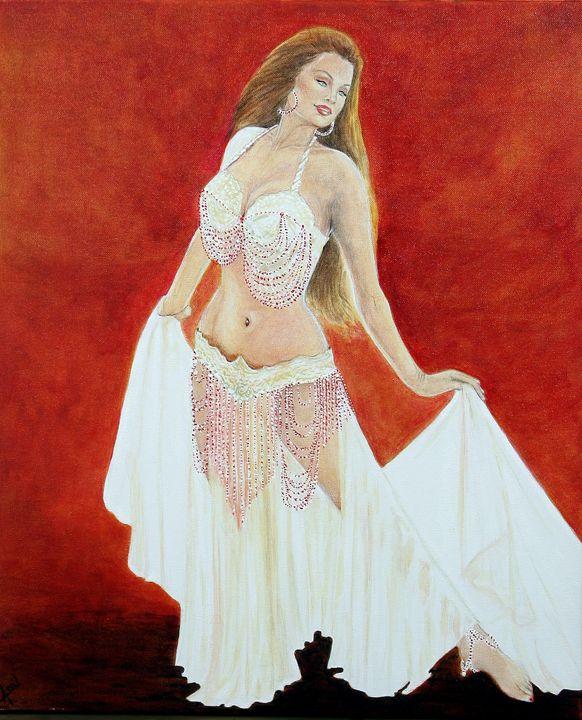 belly dancer - Avril Art Painter