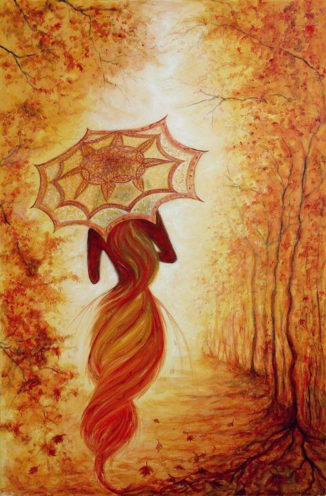 the autumn - Avril Art Painter
