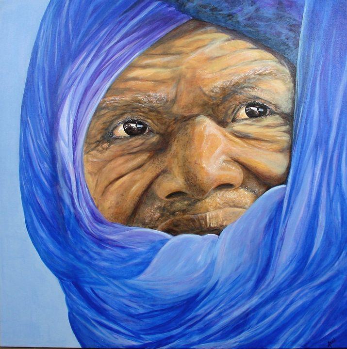 Touareg - Avril Art Painter