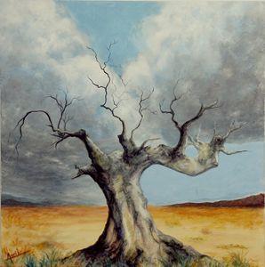 dead tree - Avril Art Painter