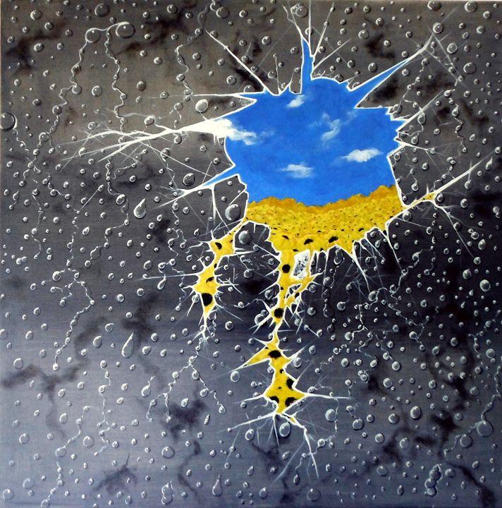dream of sunflowers - Avril Art Painter