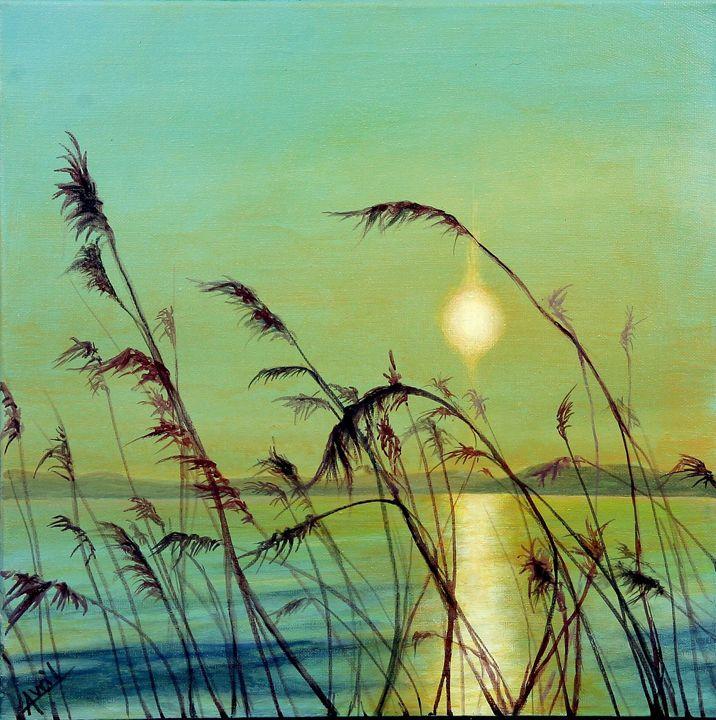 the tide - Avril Art Painter
