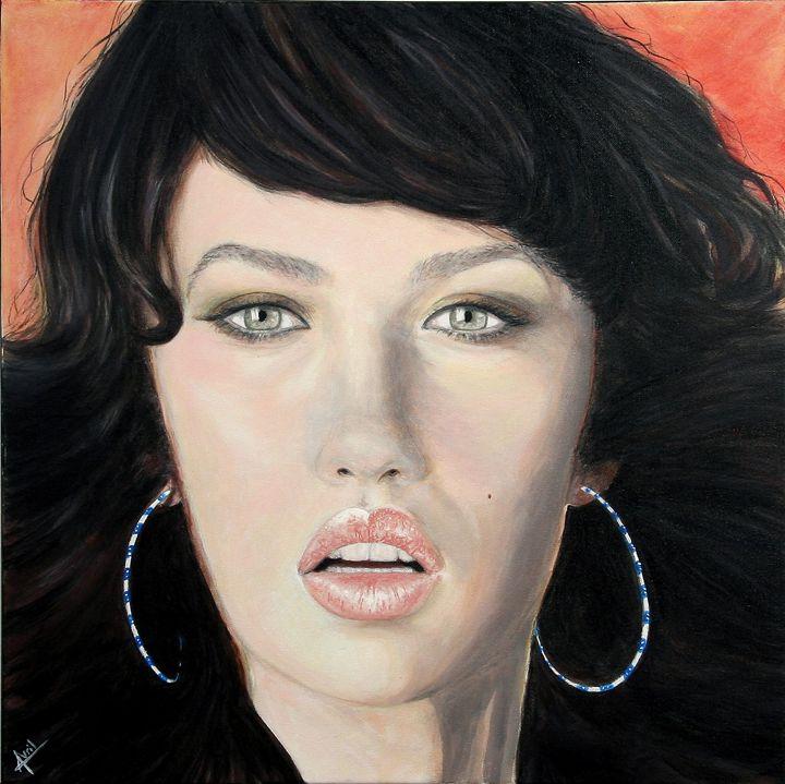 """""""Earrings"""" - Avril Art Painter"""