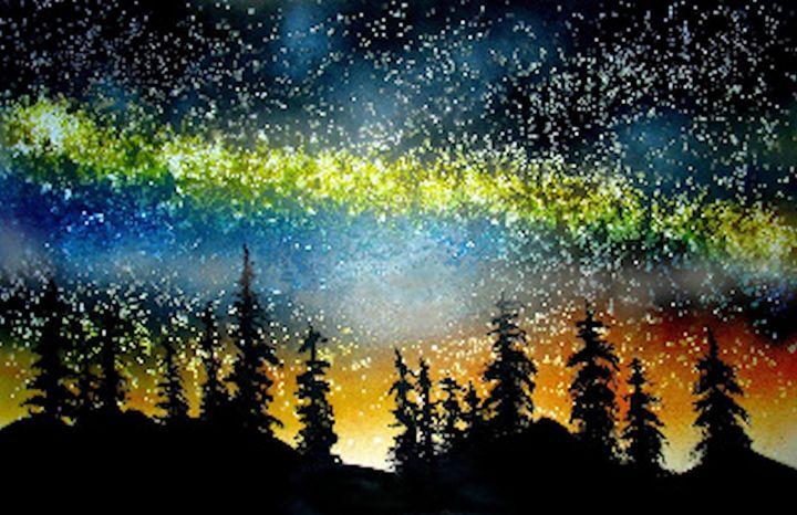 Starry Night in the High Sierra - Ed Moore