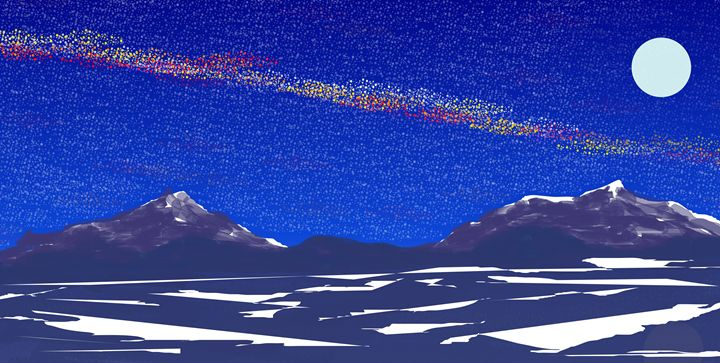 Starry Night 3 - Ed Moore