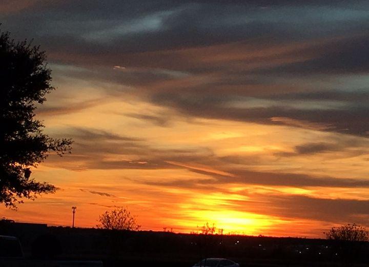 Brilliant sunset - Deborah Daniel