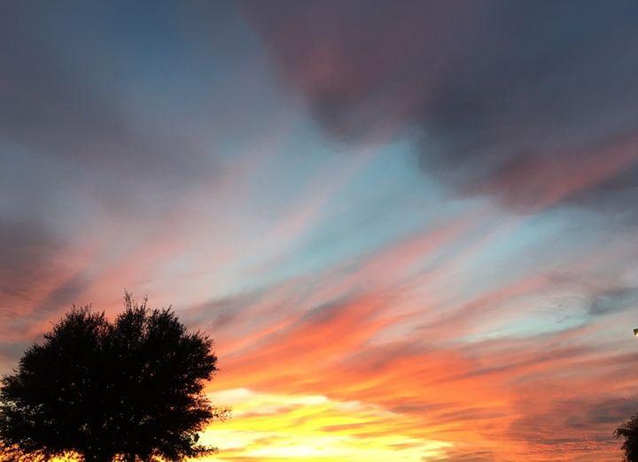 Colorful sunset - Deborah Daniel