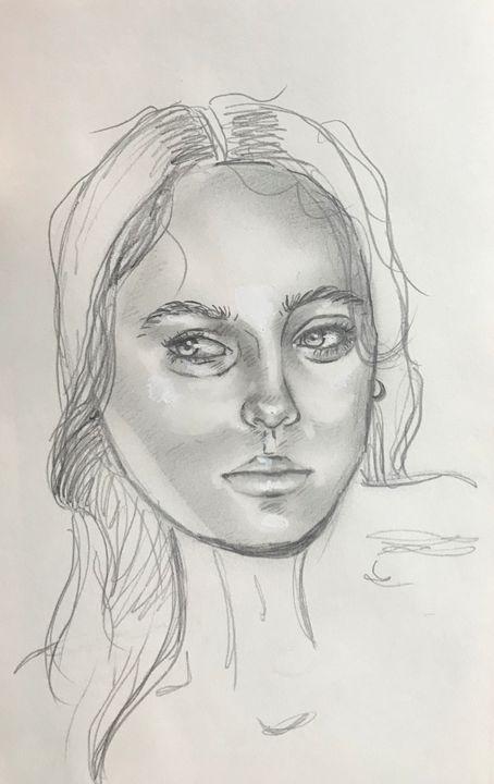 Face Study - Thea Schultz