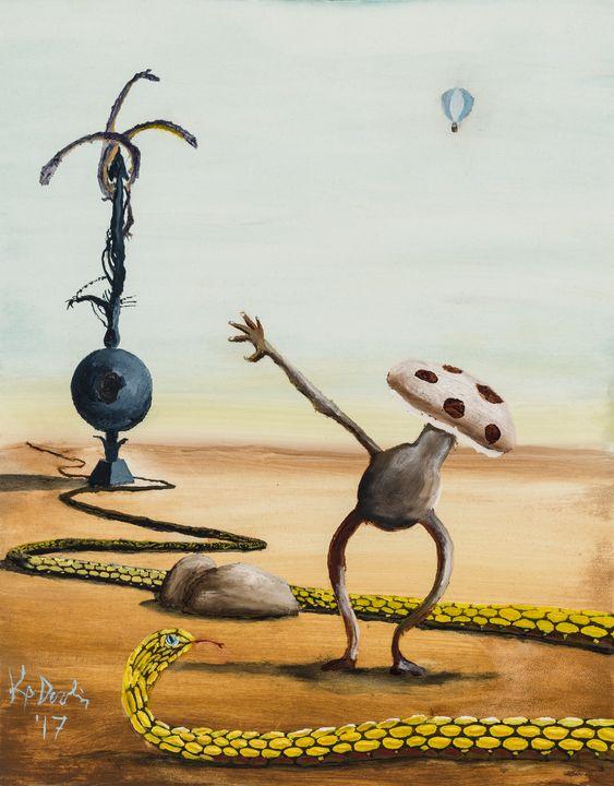 Mushroom Man - KP Devlin
