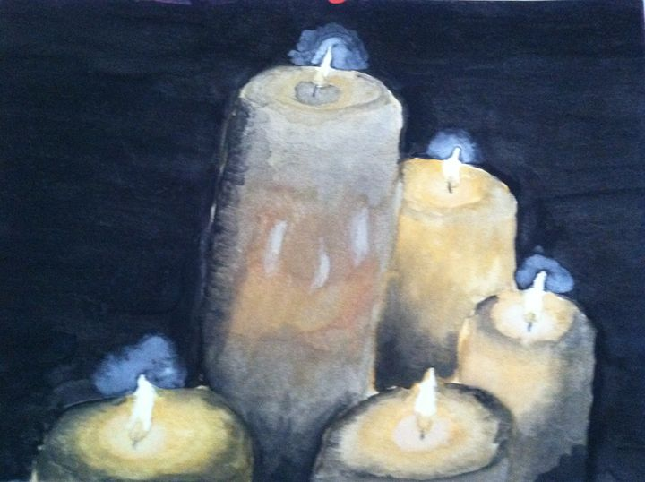 Candles - Hannah Feinsilber's Art