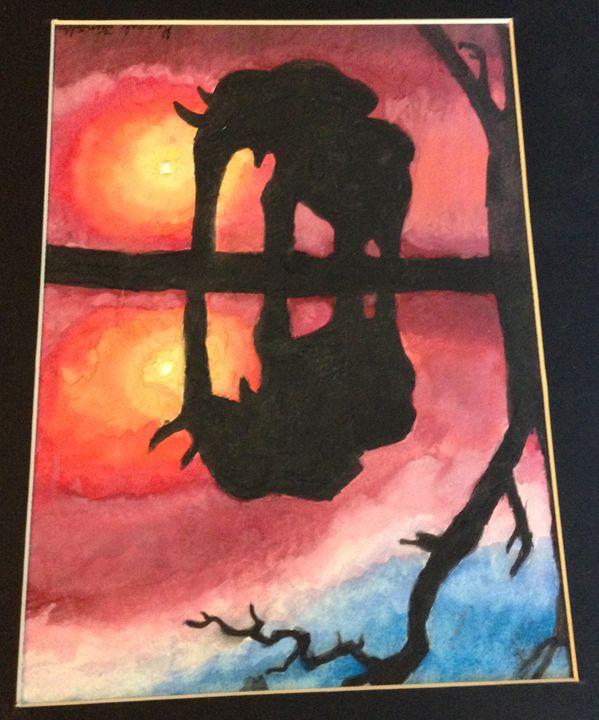Safari Reflection - Hannah Feinsilber's Art