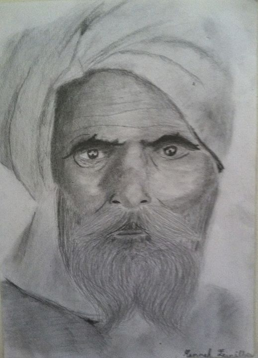 Wise Man - Hannah Feinsilber's Art