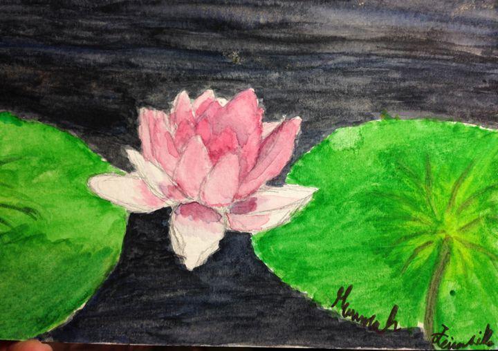 Lilies - Hannah Feinsilber's Art