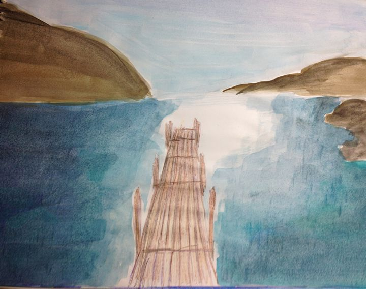 Bridge to Paradise - Hannah Feinsilber's Art
