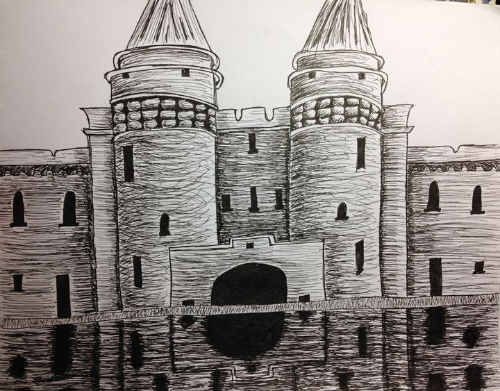 Castle in Ink - Hannah Feinsilber's Art