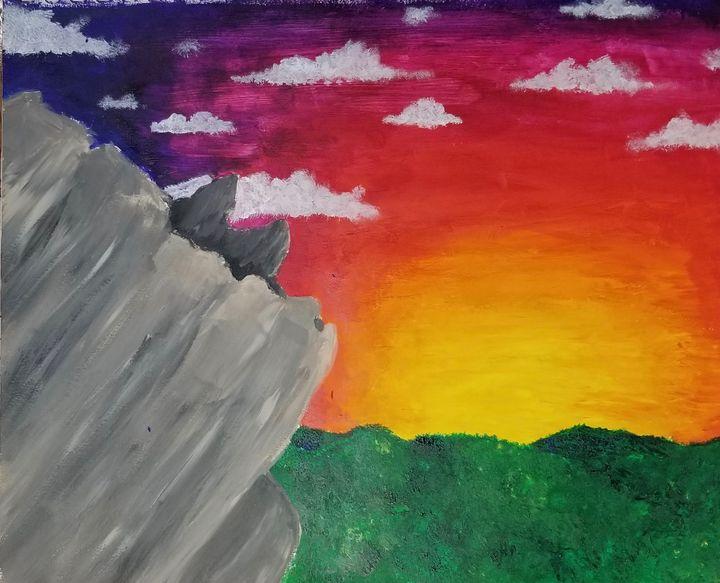 Grayson Highlands Sunset - Hannah Feinsilber's Art