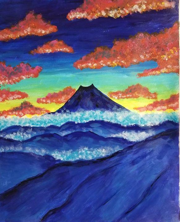 Colorful mountains - Hannah Feinsilber's Art