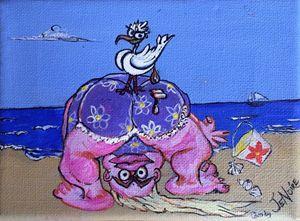 "Happy Seagull...soft landing """