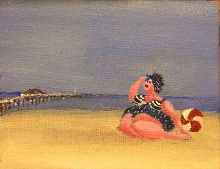"""""""Balmy summer """" - Art by Jenoire"""