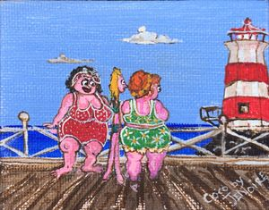 """Lighthouse ladies"""