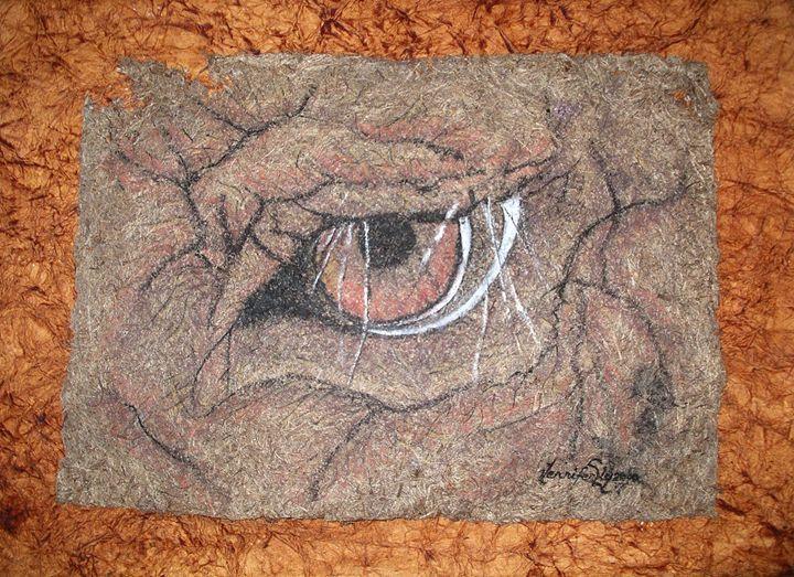 Eye of an Elephant - Art by Jenoire