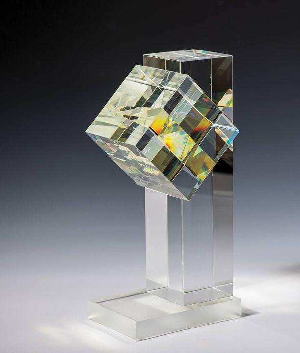 Peter Botos - Hasáb Beékelt Kockával - Gestalt Gallery