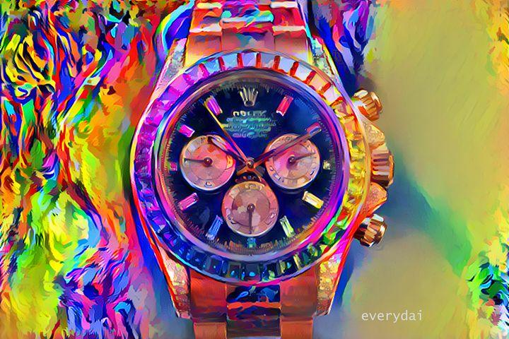 Rolex Daytona Painted - Everydai