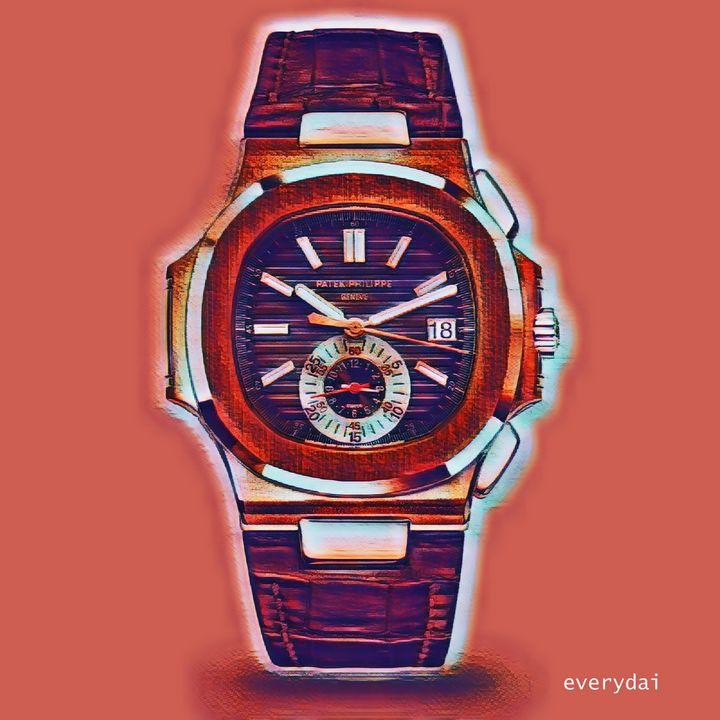 Patek Philippe Nautilus 5980 POP-red - Everydai