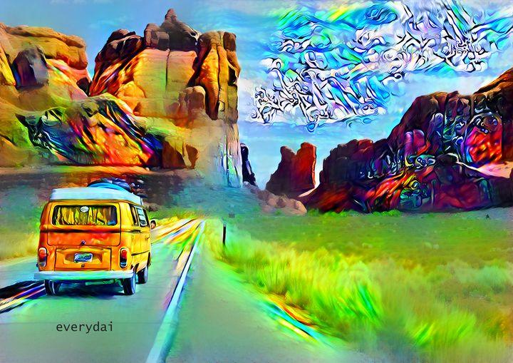 Into the Wanderlust - bit of LSD - Everydai